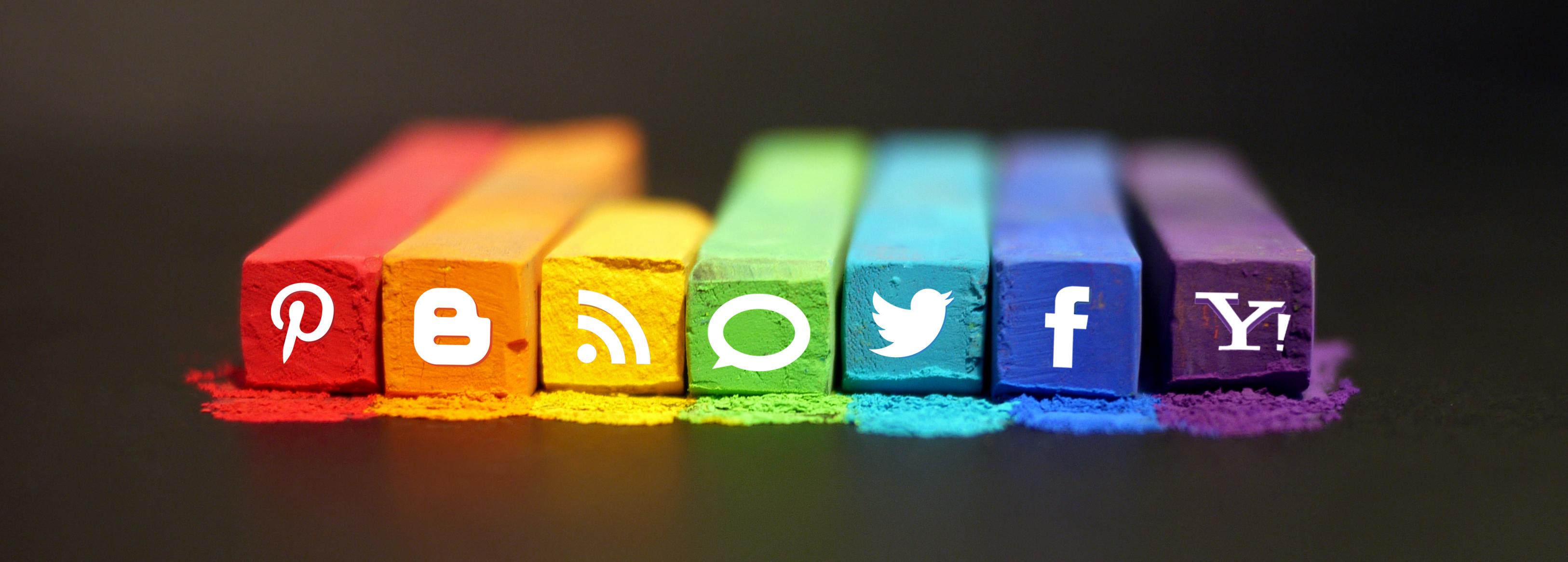 chalky social media