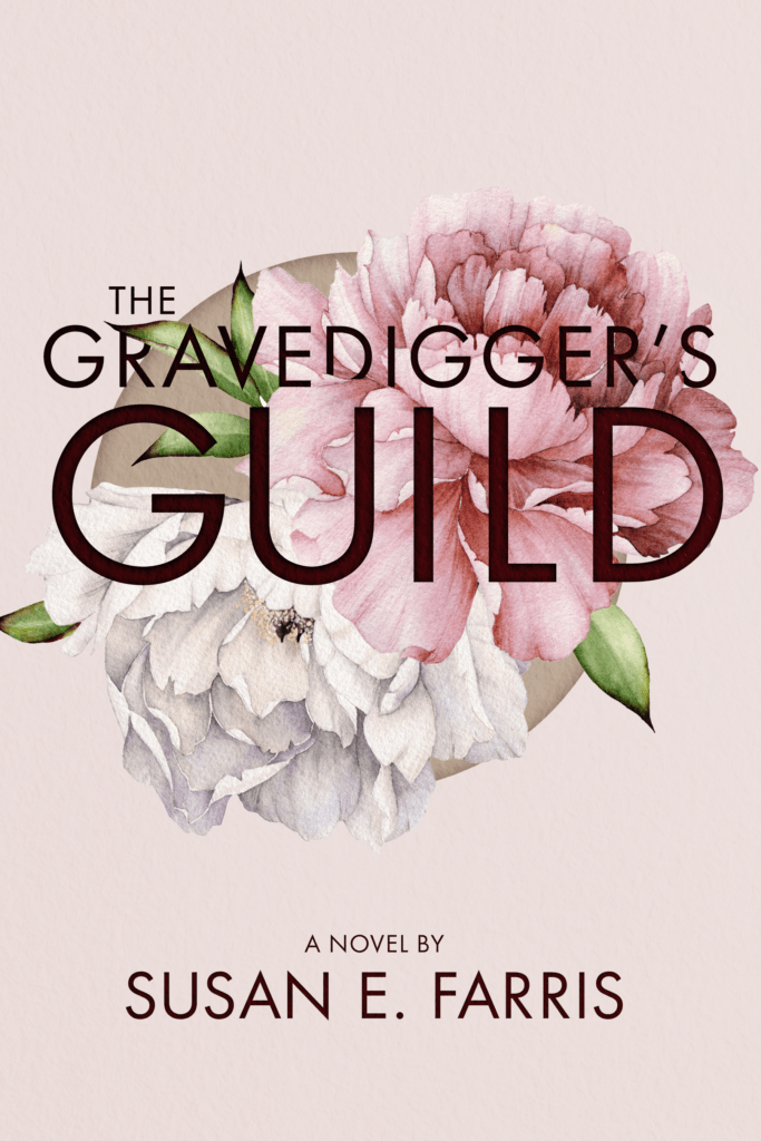 The Gravedigger's Guild cover - designed by Pete Farris